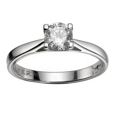 the forever platinum 1 2 carat ring h