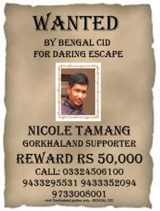 Madan Pintail tamang escape investigation chances of nickole in nepal less cid settlements around