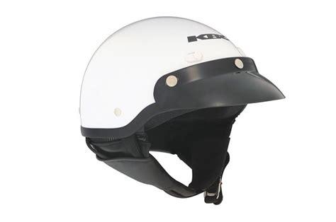 Helm Kbc Half Kbc Tk410 Half Helmet White