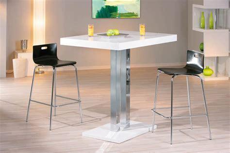 magasin de cuisine 駲uip馥 pas cher table bar palazzi blanc chrome