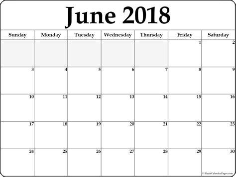 printable june 2018 calendar template blank editable calendar