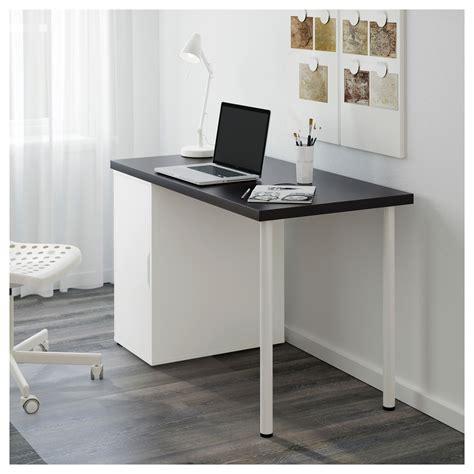 ikea linnmon alex desk linnmon alex black brown white 120x60 cm ikea
