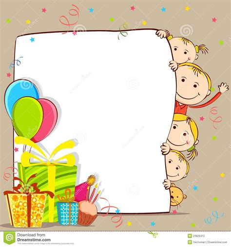 Gift Card For Kids - cute birthday cards for kids www imgkid com the image kid has it