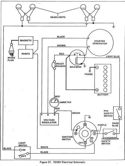 7016 simplicity tractor wiring diagram new wiring