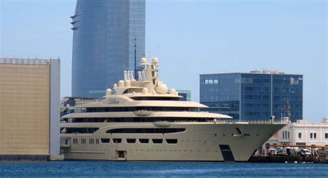 yacht dilbar dilbar details and video divulged by l 252 rssen megayacht news