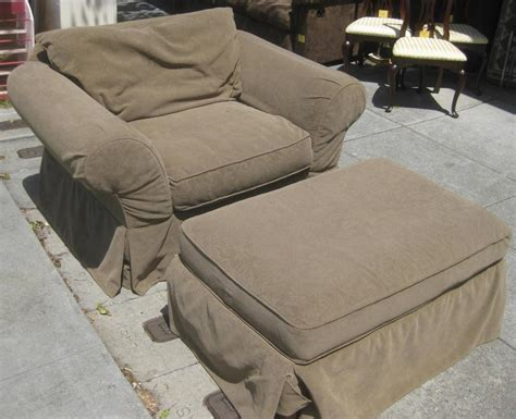 sofa chair ottoman sofa chair and ottoman slipcovers chairs seating