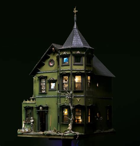haunted dollhouse kit haunted doll house pollyanne hornbeck s haunted dollhouse