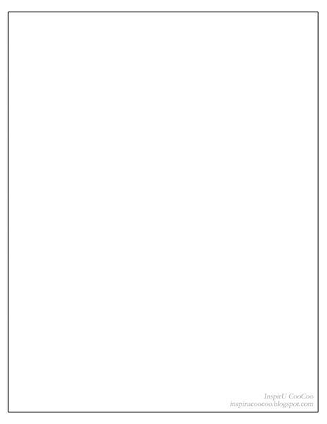 inspiru coocoo blank page challenge