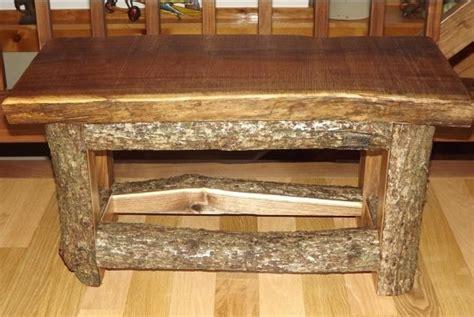 cedar log bench or coffee table by jamesrobinson on etsy log bench legs 28 images childs or garden bench cedar