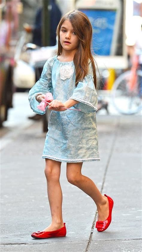 Suri Cruise Roger Vivier Shoes by Happy 8th Birthday Suri Cruise See Cutest