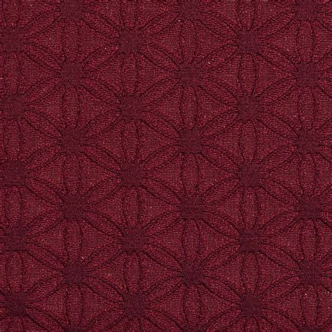 upholstery grade burgundy flower jacquard woven upholstery grade fabric by