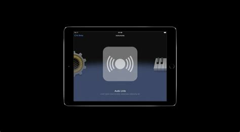 Garageband Ios Audio Units Audio Production On Ios 9 Is Vastly Improved As Apps Get