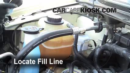 how to add coolant ford edge 2007 2010 2008 ford edge se 3 5l v6
