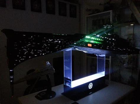 Smartphone Controlled Lights super star destroyer eclipse class 3 foot star wars