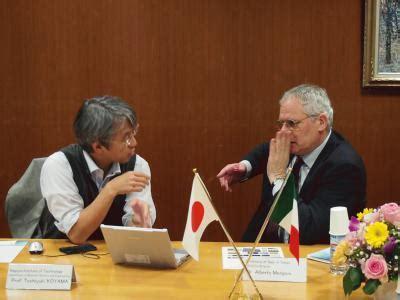 science attache  italian embassy  tokyo visited nitech nagoya institute  technology