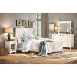 Home Decorators Collectio Home Decorators Collection Bridgeport Antique White Bed Frame 1872500460 The Home Depot