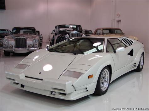 1990 Lamborghini Countach For Sale 1990 Lamborghini Countach 25th Anniversary Edition