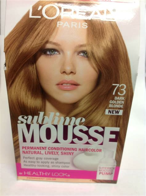 healthy look hair color l oreal sublime mousse by healthy look hair color