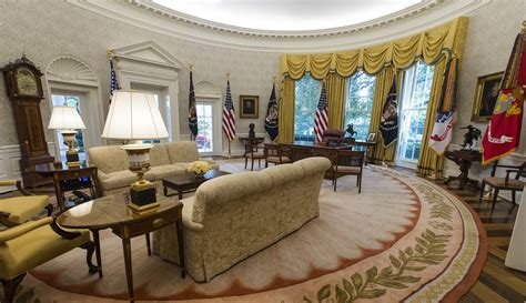 oval office decor white house gains a lot more eagles with renovation