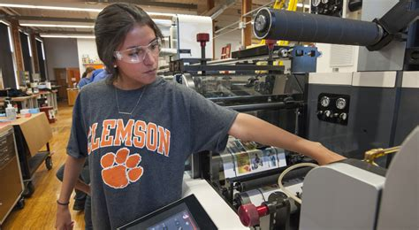 Clemson Mba Stats by Clemson Business School Receives Nilpeter Press Valued At