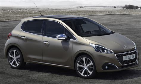 peugeot world peugeot 208 facelift gets world s first textured paint
