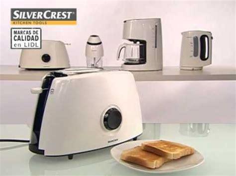 tostadora lidl tostadora silvercrest design edition lidl espa 241 a youtube