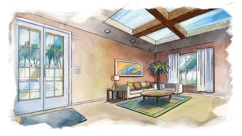 Home Interior Design Tutorial Photoshop Tutorials Gt Conceptualizing Interior Designs In