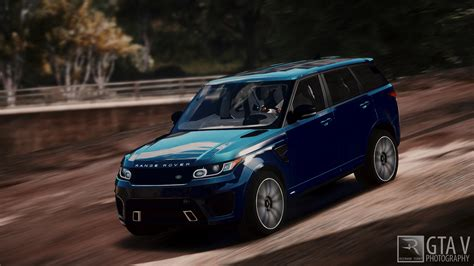 burgundy range rover 2016 range rover sport svr 2016 animated templated add on