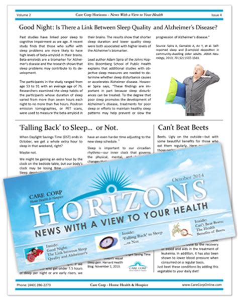 Patient Newsletter Health Care Newsletters