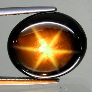 Hq 2 46 Ct Golden Black Sapphire 6 Sf50 sapphires 17 34ct black sapphire g i s a certified golden brown 6 was sold