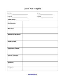8 step lesson plan template englishlinx lesson plan template