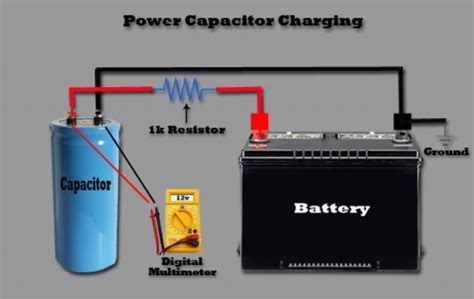 electrical energy capacitor power capacitor functionality why you need a cap learning center sonic electronix