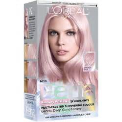 feria hair color l oreal feria smokey pastels permanent haircolor