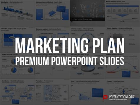 powerpoint marketing plan template marketing plan ppt slide template