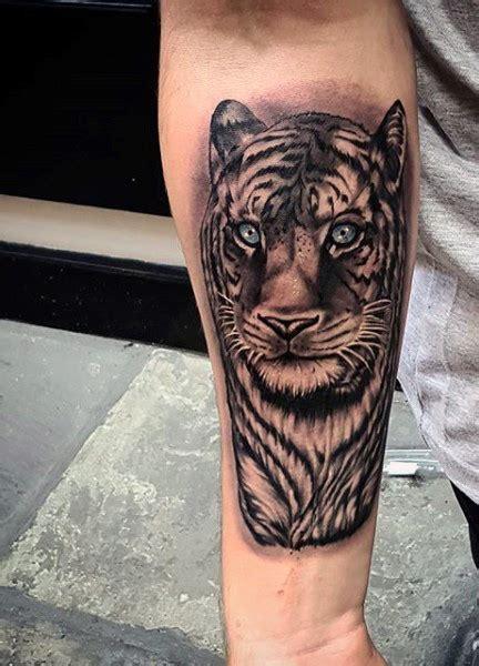 tiger tattoo on forearm 73 impressive forearm design mens craze