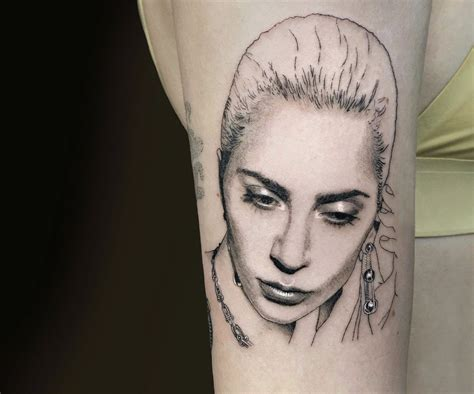 lady gaga tattoos removed bright and shining realistic tattoos by shannon perry