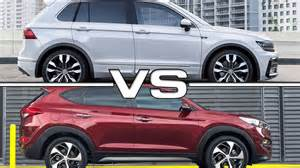 Hyundai Tiguan 2017 Volkswagen Tiguan Vs 2016 Hyundai Tucson