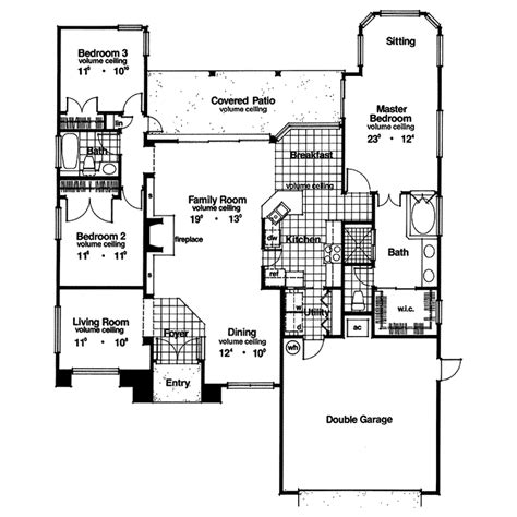 coquina key florida style home plan 047d 0026 house