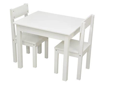 stuhl und tisch kindertisch und stuhl set weiss shop gonser