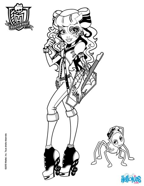 monster high operetta coloring pages operetta monster high coloring pages coloring pages