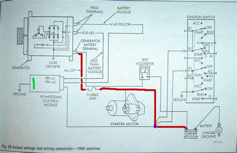 2000 dodge dakota headlight switch wiring diagram