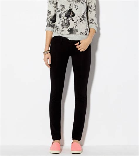 american eagle knit jeggings knit jegging black american eagle outfitters