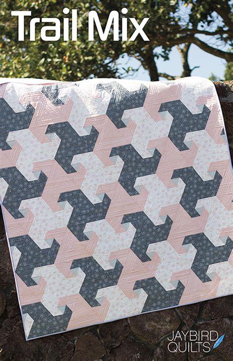 a new jaybird quilts pattern trail mix jaybird quilts
