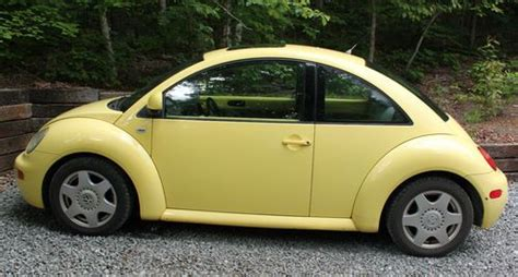 1999 volkswagen beetle yellow manual used car purchase used 1999 yellow new volkswagen beetle gls tdi turbo diesel 5 speed manual 2 door vw in