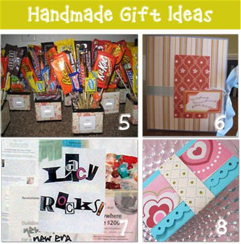 Ideas For Handmade Gifts - handmade gift ideas tj community giveaway tip junkie