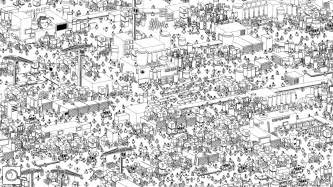 Hidden folks indie megabooth
