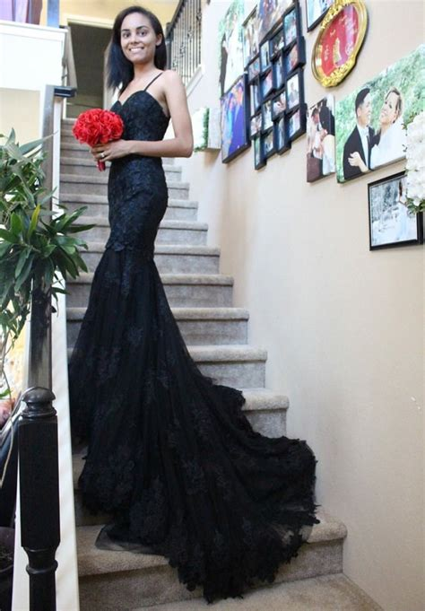 Black Dress For Wedding by Black Wedding Dresses For Alternative Brides Misfit Wedding
