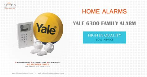 yale 6300 family alarm fitted home alarms uk