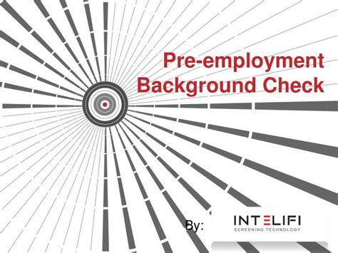 What Is Background Check For Employment Ppt What Is Pre Employment Background Check Powerpoint Presentation Id 7163182