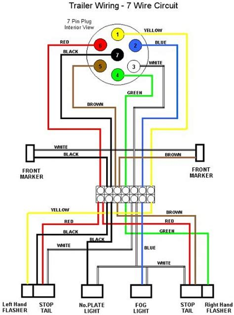 7 pin wiring diagram Ford F150 Forum Community of Ford Truck Fans